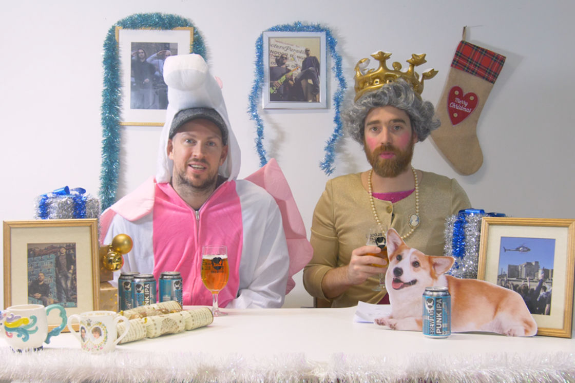 BREWDOG ALTERNATIVE QUEEN'S SPEECH 2017