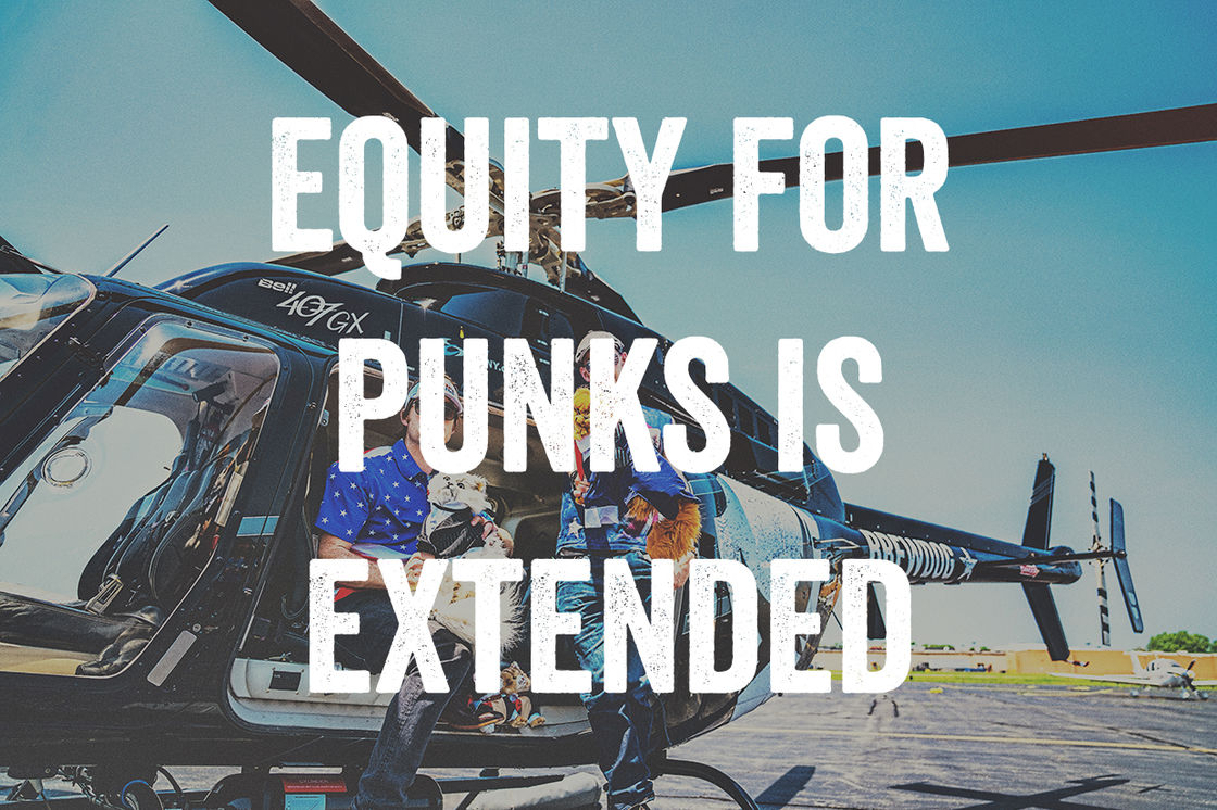 EQUITY FOR PUNKS USA – MORE TIME TO INVEST!