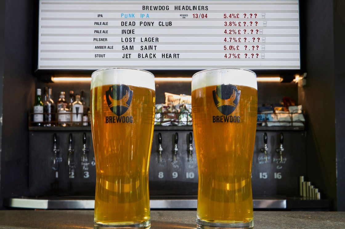 FOR 7 DAYS, ALL BREWDOG BARS WILL BE HONESTY BARS.